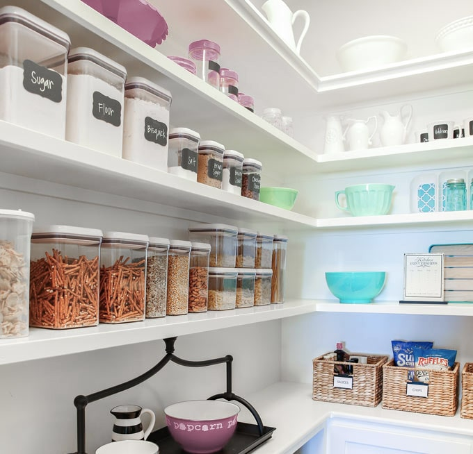 organizational containers in pantry greer south carolina