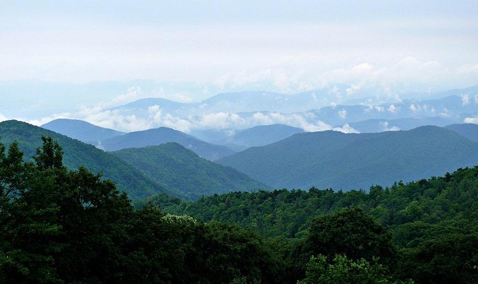 blue ridge mountains south carolina